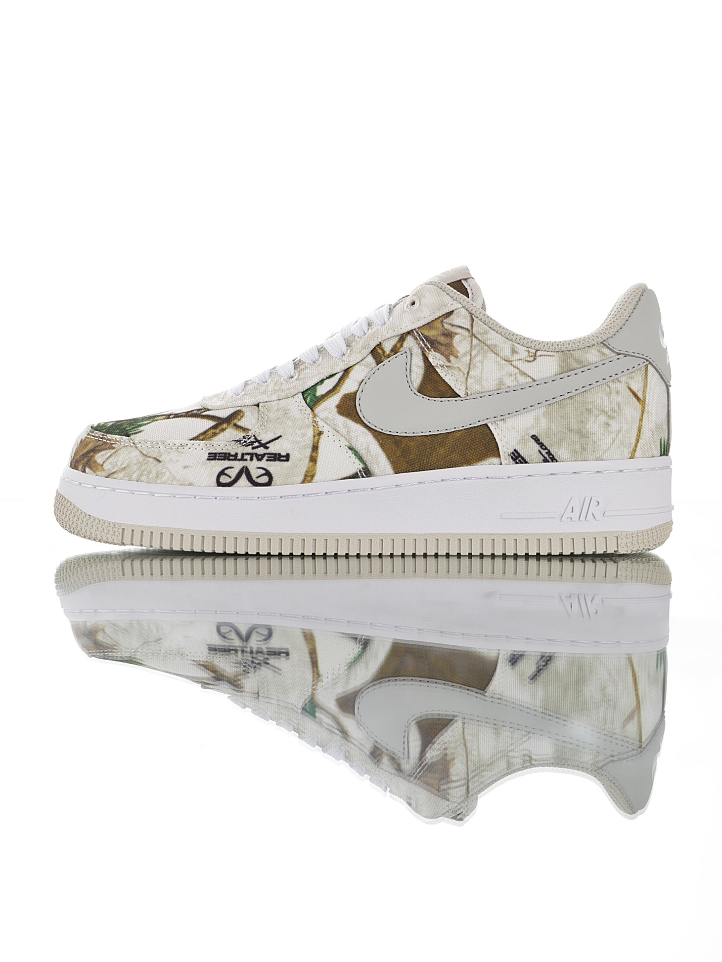 "Realtree Outdoors x Nike Air Force 1 07 LV8 ""Reflective Camo""空军一号经典低帮百"