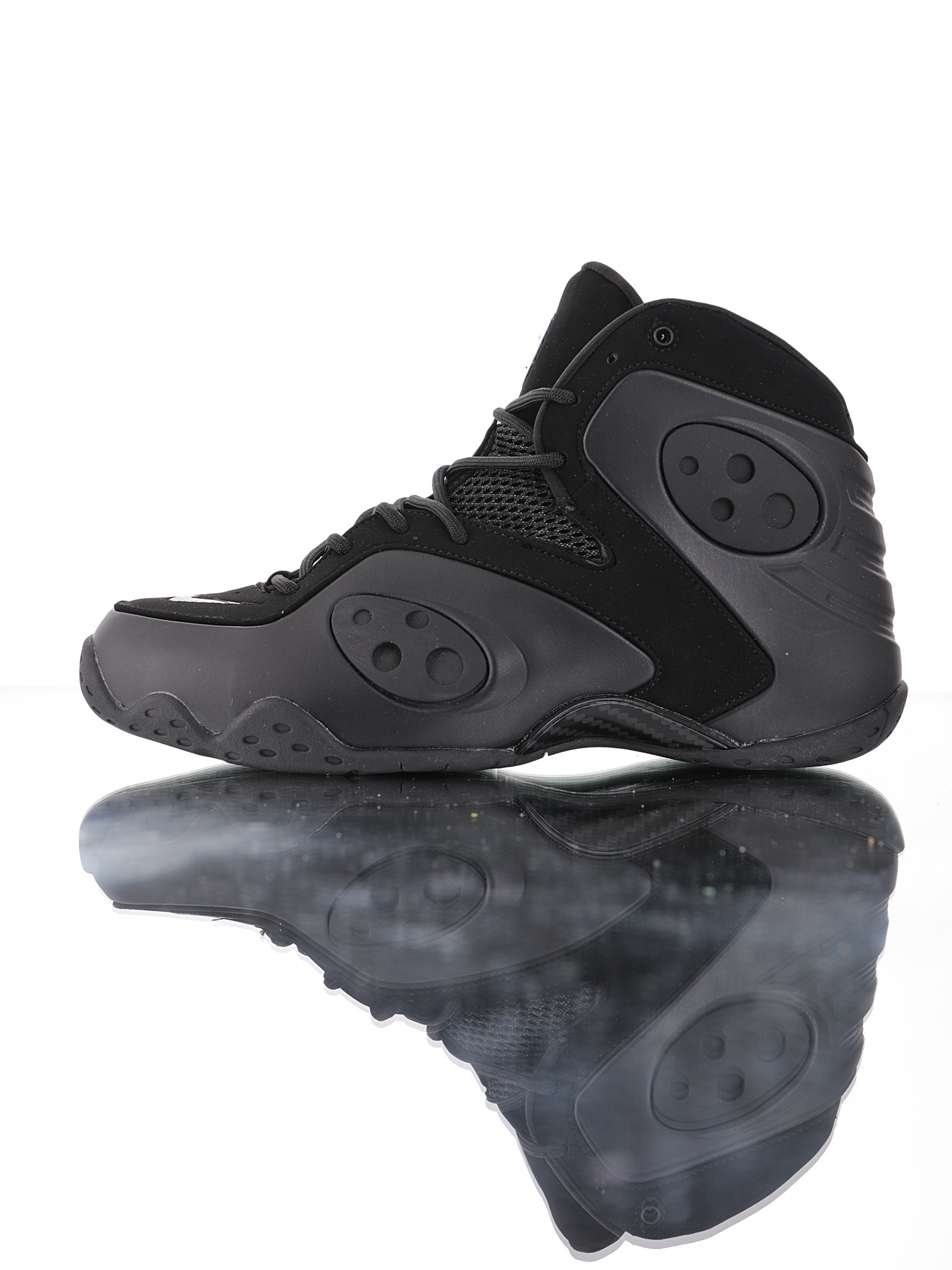 "耐克Nike Zoom Rookie ""Black""哈达威新秀系列中帮系列文化篮球鞋 ""白黑夜光喷""BQ3379-002"
